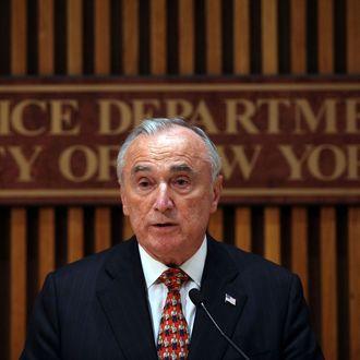 NYPD Chief Bill Bratton