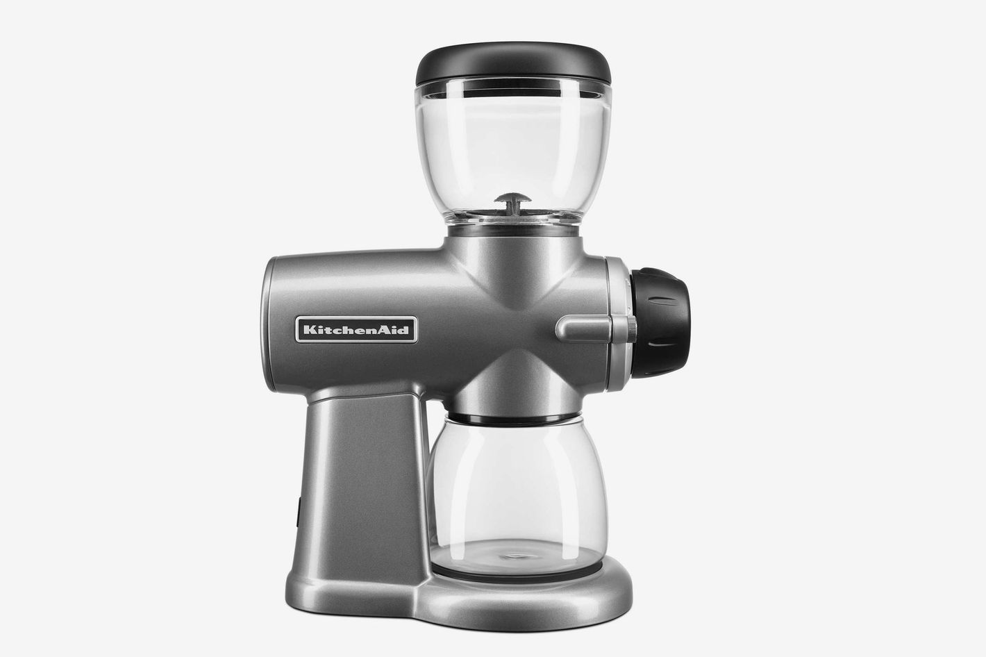 KitchenAid Burr Coffee Bean Grinder in Silver