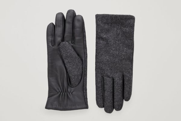 COS Cashmere Lined Gloves
