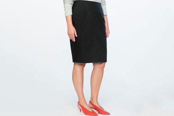 Studio Faux Leather Pencil Skirt