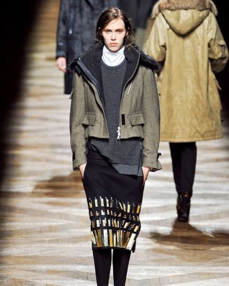 Larocca's favorite look from Dries Van Noten.