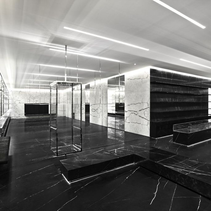 The new Saint Laurent Paris store.