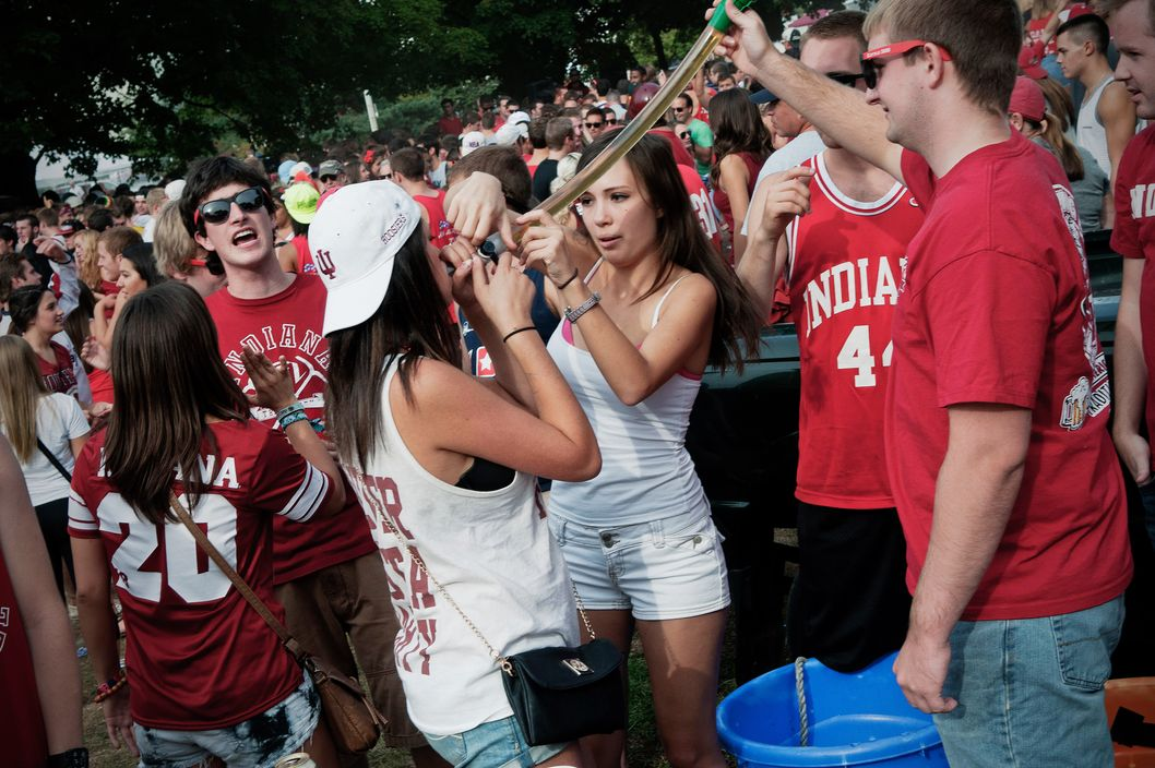 students Drunk college
