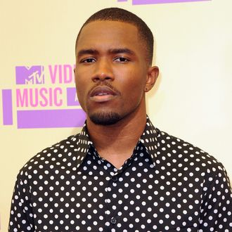 Frank Ocean==2012 MTV Video Music Awards - Arrivals==Staples Center, Los Angeles, Ca==September 6, 2012.
