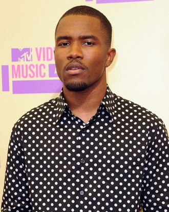 Frank Ocean==2012 MTV Video Music Awards - Arrivals==Staples Center, Los Angeles, Ca==September 6, 2012.