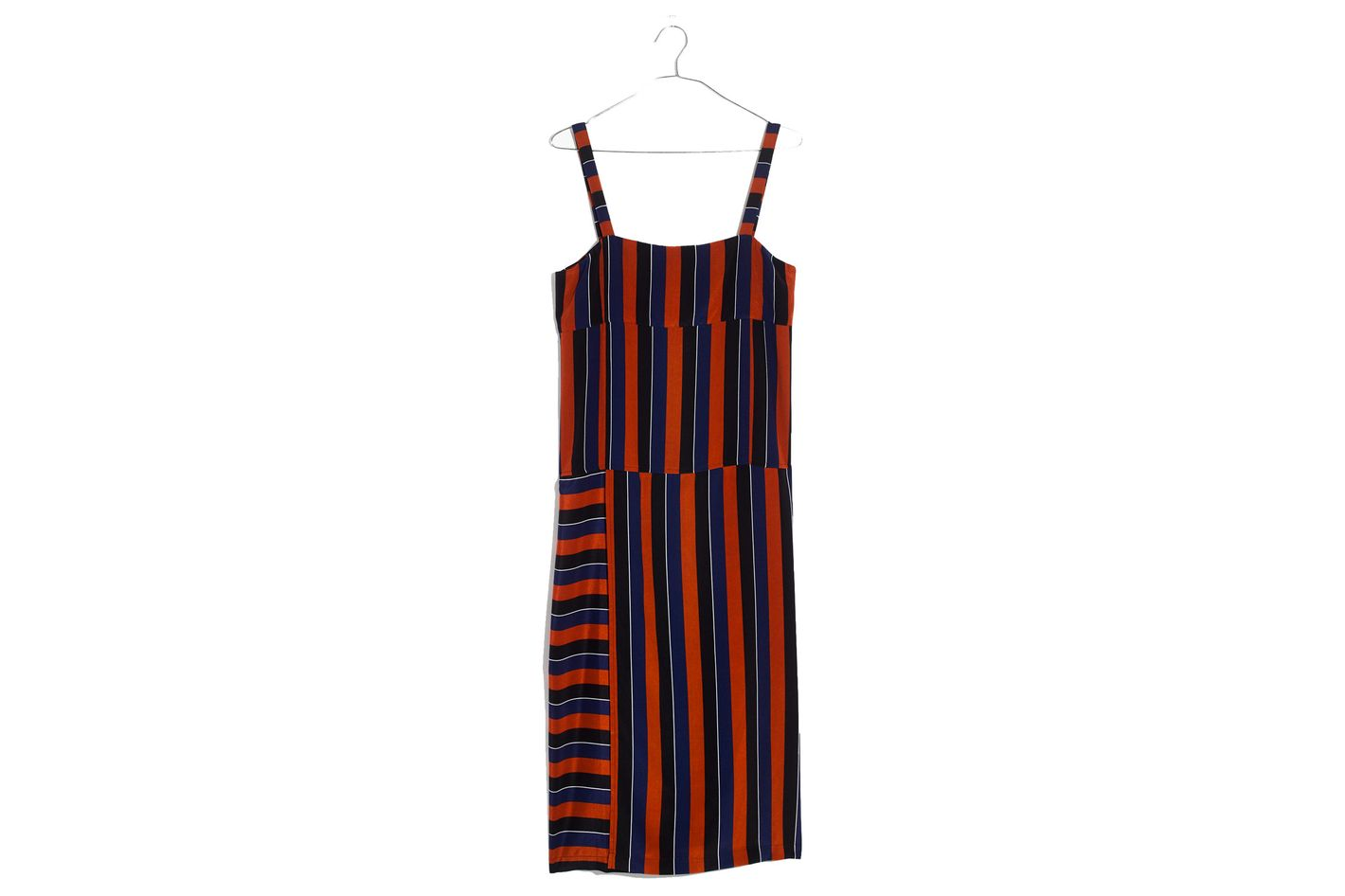 Madewell x No.6 Silk Patchwork Shift Dress