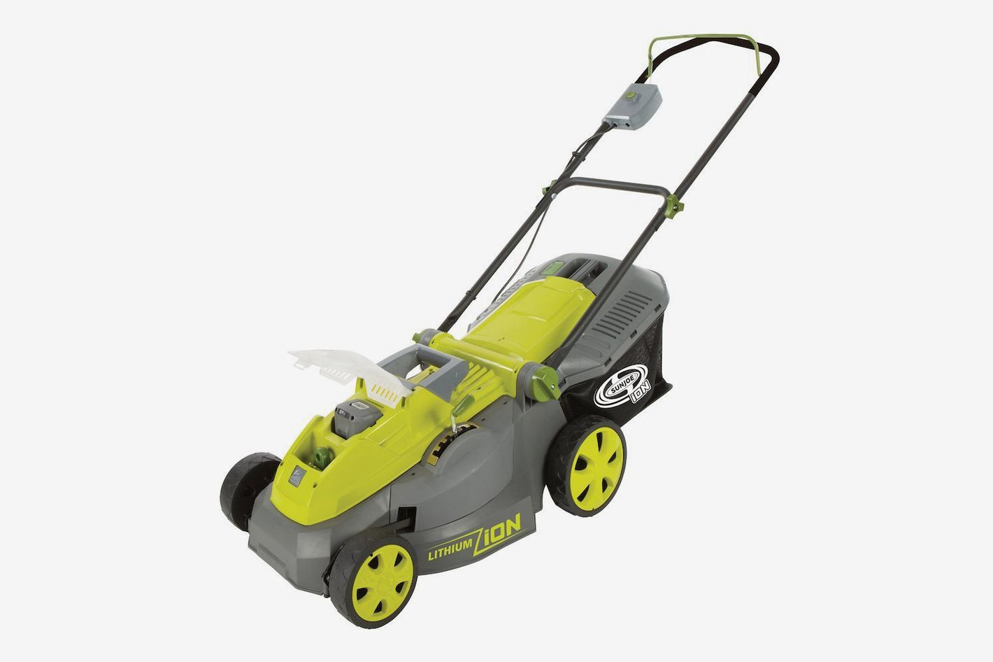 Snow Joe Sun Joe iON16LM 40 V 16-Inch Cordless Lawn Mower With Brushless Motor