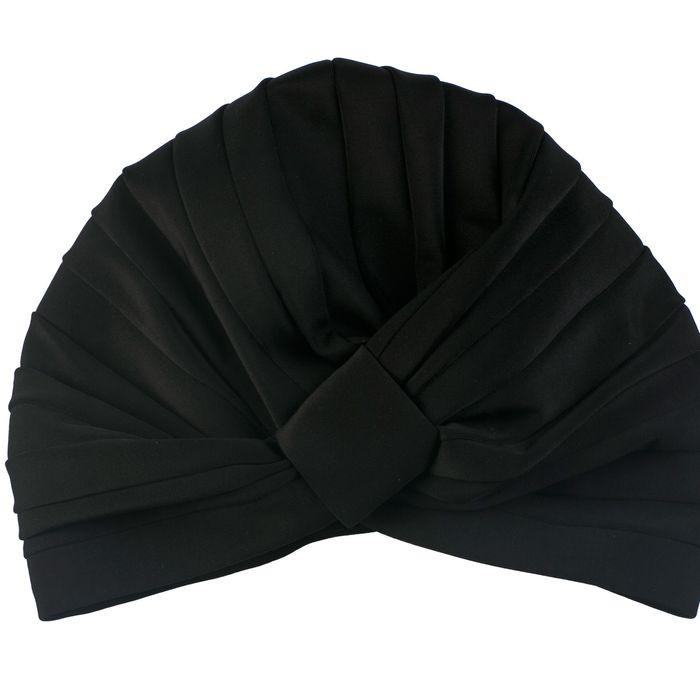 Louvelle's shower cap.