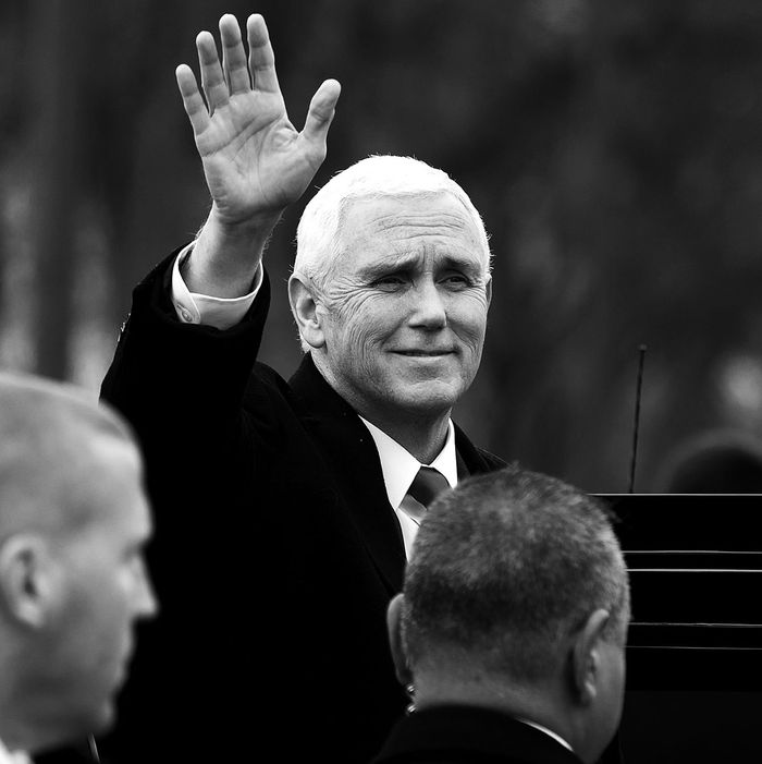 Vice President Mike Pence at the March for Life.
