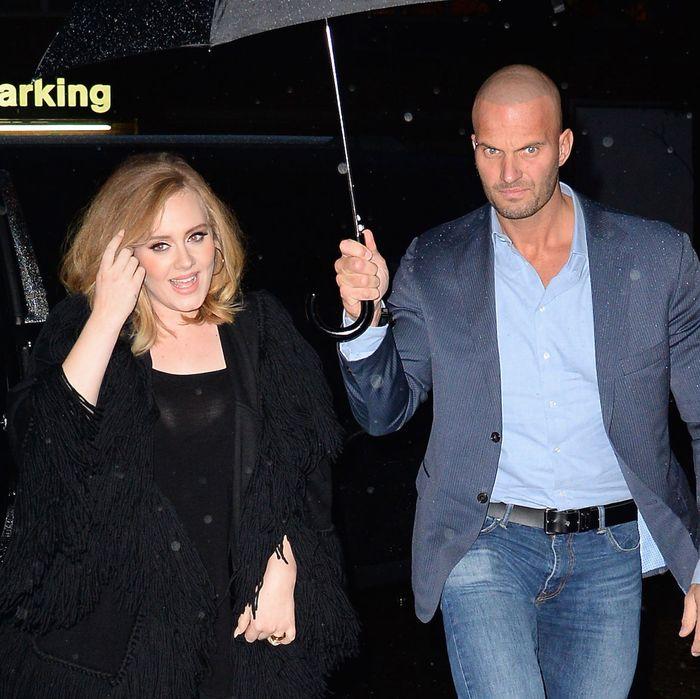 Adele and Van der Veen.
