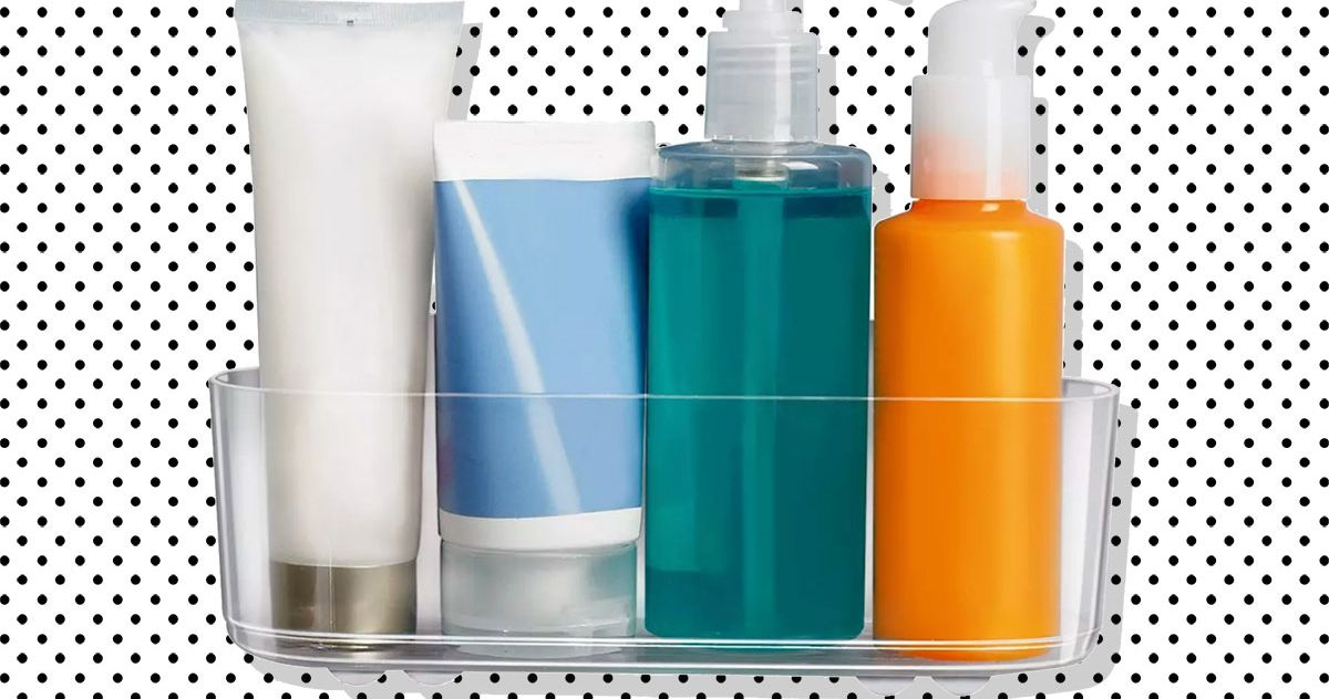 These Sticky Clear Shelves Are $7 and Create Storage Anywhere