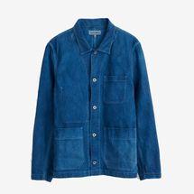 Alex Mill Work Jacket in Natural Indigo
