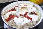 The Halal Guys' Famous White Sauce Recipe Has Been Revealed, Sort Of