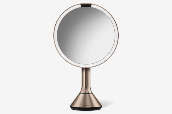 Simplehuman Eight-Inch Sensor Mirror With Brightness Control