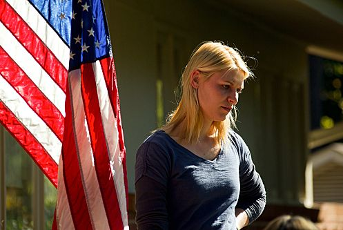 Claire Danes as Carrie Mathison in Homeland (episode 12-season finale) - Photo: Kent Smith/SHOWTIME - Photo ID: homeland_111_0026