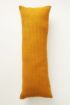 Anthropologie Woven Waffle Pillow