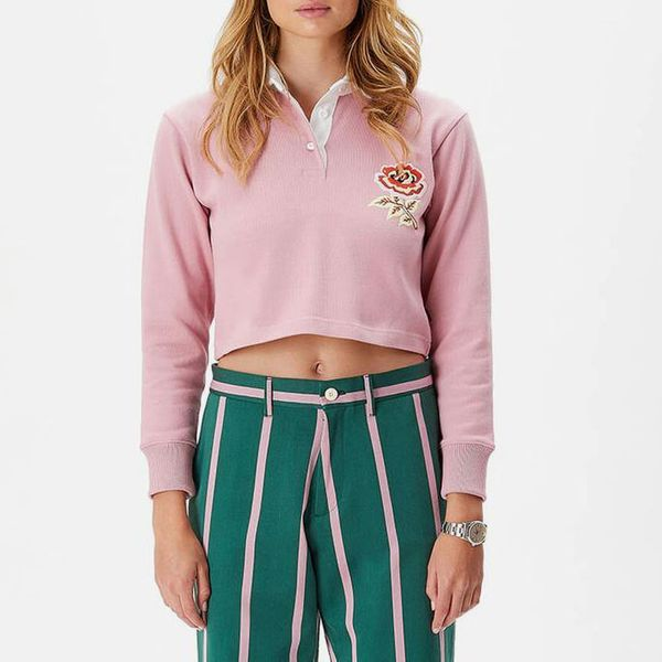 Rowing Blazers Cropped Rugby Polo