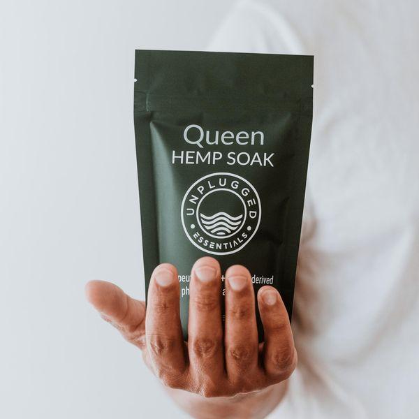 Unplugged Queen Recovery Hemp Soak, 50 mg