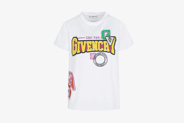 Givenchy Printed Oversized T-Shirt with Patches