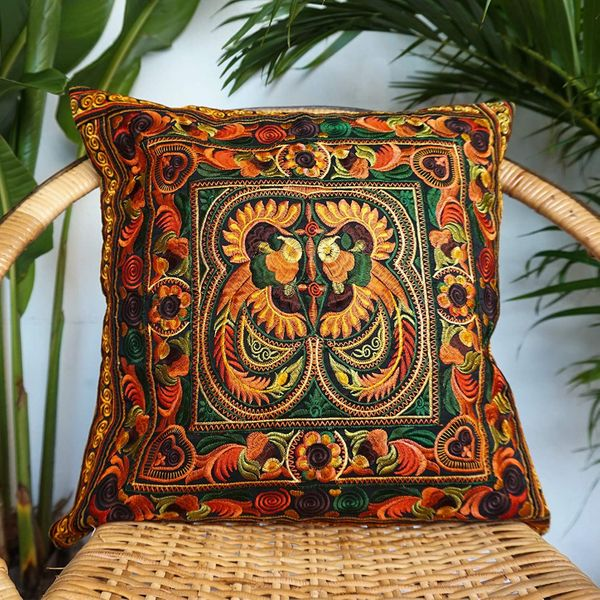 Changnoi Hmong Cushion Cover