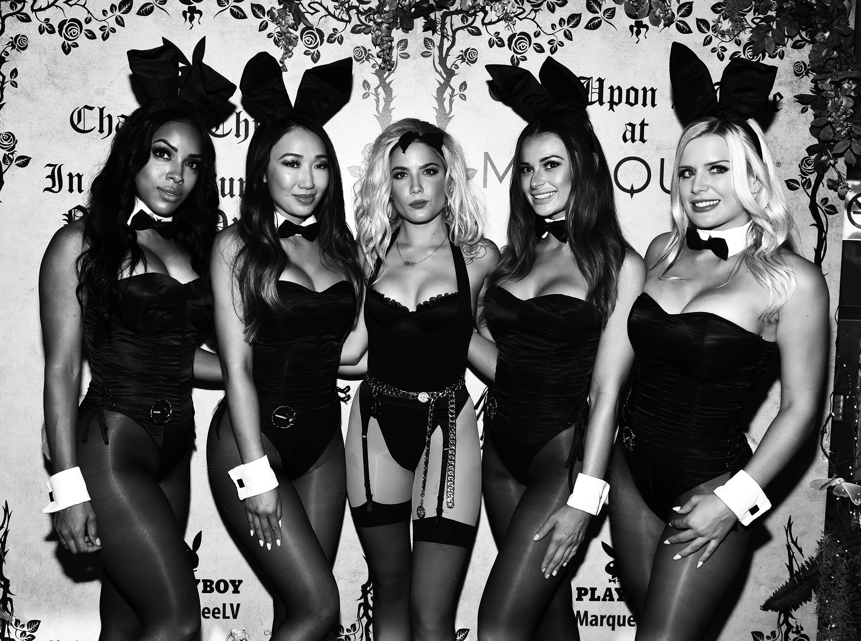 Teen group playboy bunnies