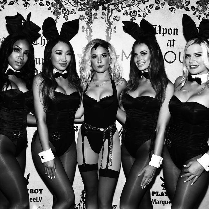 Playboy bunnies.