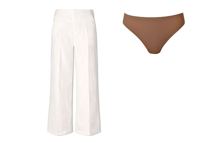 b8576a789 There s nothing worse than leaving the house in white pants and then  realizing that everyone can see your underwear. Wearing white under white  actually ...