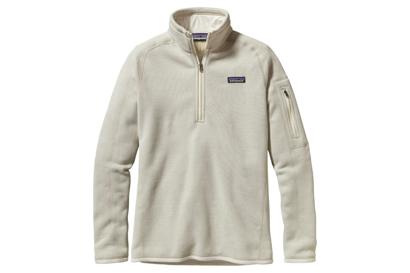 Patagonia Better Sweater 1/4-Zip Fleece Jacket in Raw Linen