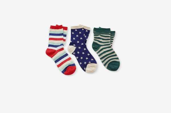 Liana M'O Exclusive Set Of Three Socks