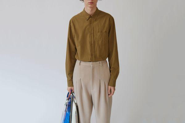 Isherwood Poplin Button-Down Shirt