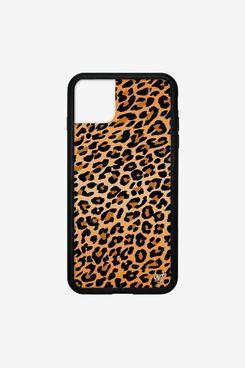 Wildflower Leopard iPhone Case, iPhone 11