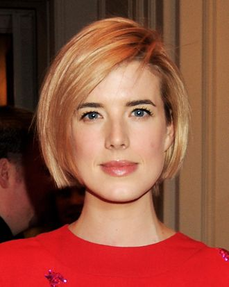 Agyness Deyn arrives at the Jameson Empire Awards at Grosvenor House on March 25, 2012 in London, England.