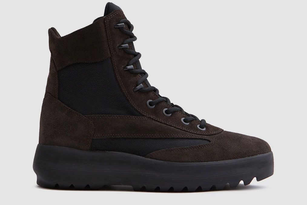 Yeezy Suede Military Boots