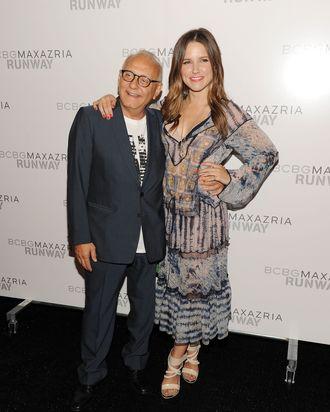 Max Azria with Sophia Bush.