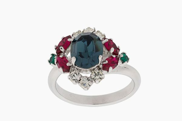 Christian Dior x Susan Caplan 1981 Archive Oval Ring