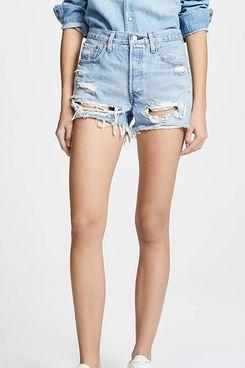 Levi's Women's Premium 501 Original Shorts