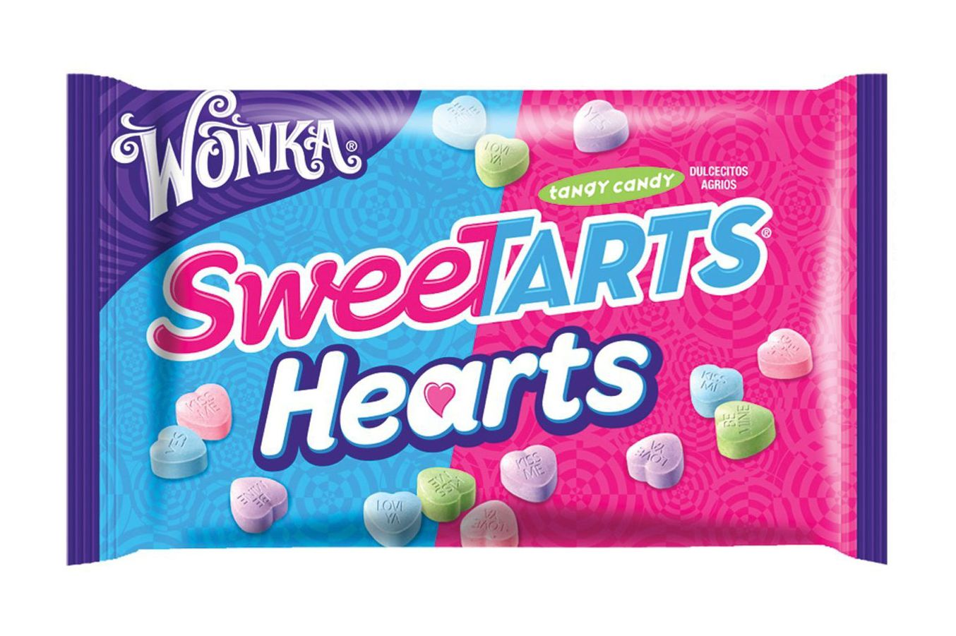 Wonka SweeTarts Valentine's Hearts, 14-Ounce Bags (Pack of 6)