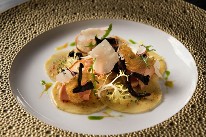 The New Dishes Include Lartichaut Or Artichoke Carpaccio With Foie Gras And Parmesan Photo Liz Clayman