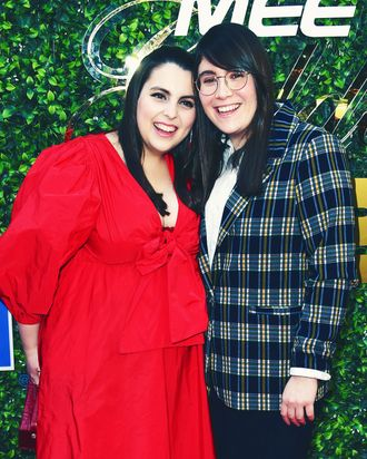 Beanie Feldstein and Bonnie Chance Roberts.