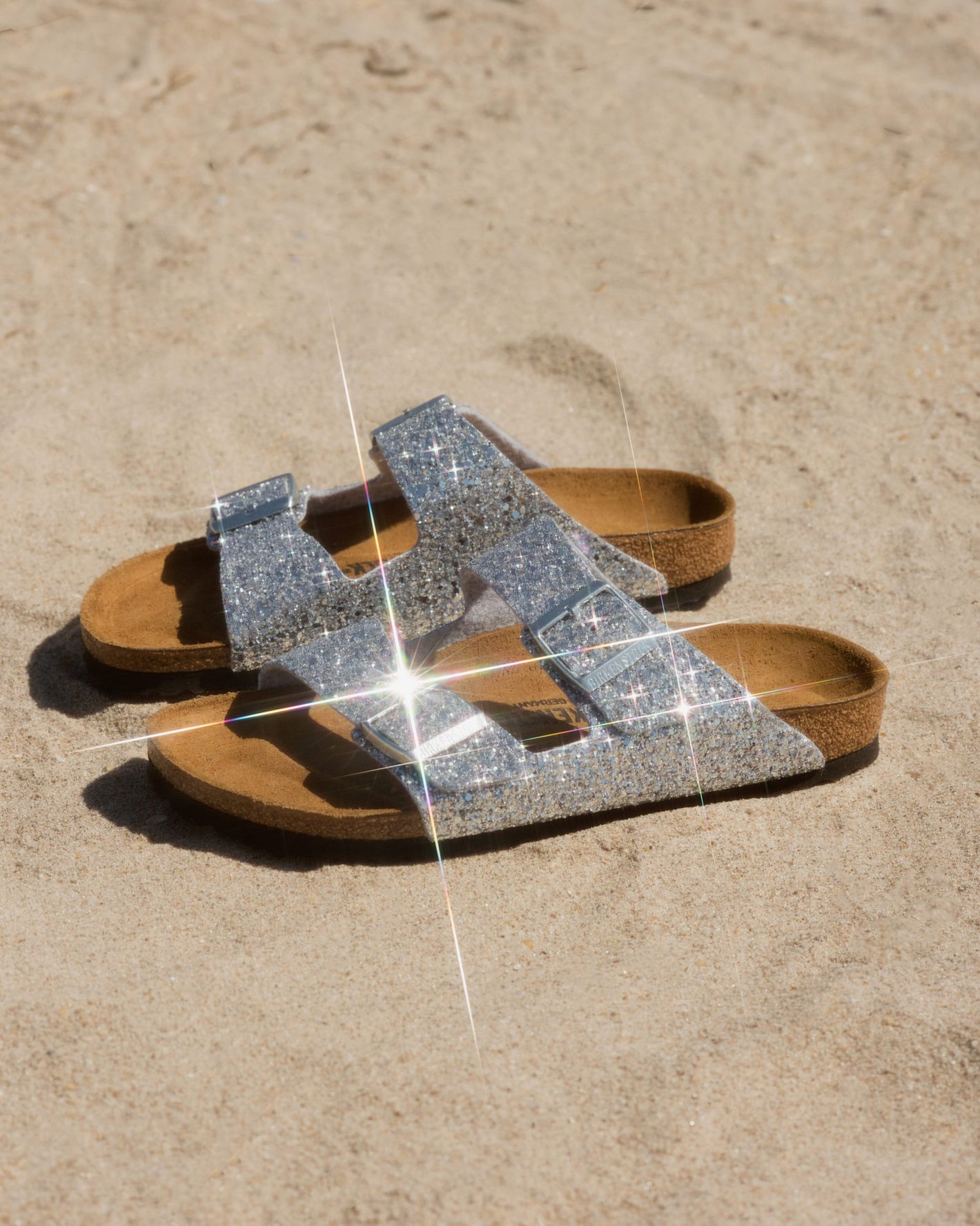 Opening Ceremony And Birkenstock Made Sparkly Sandals