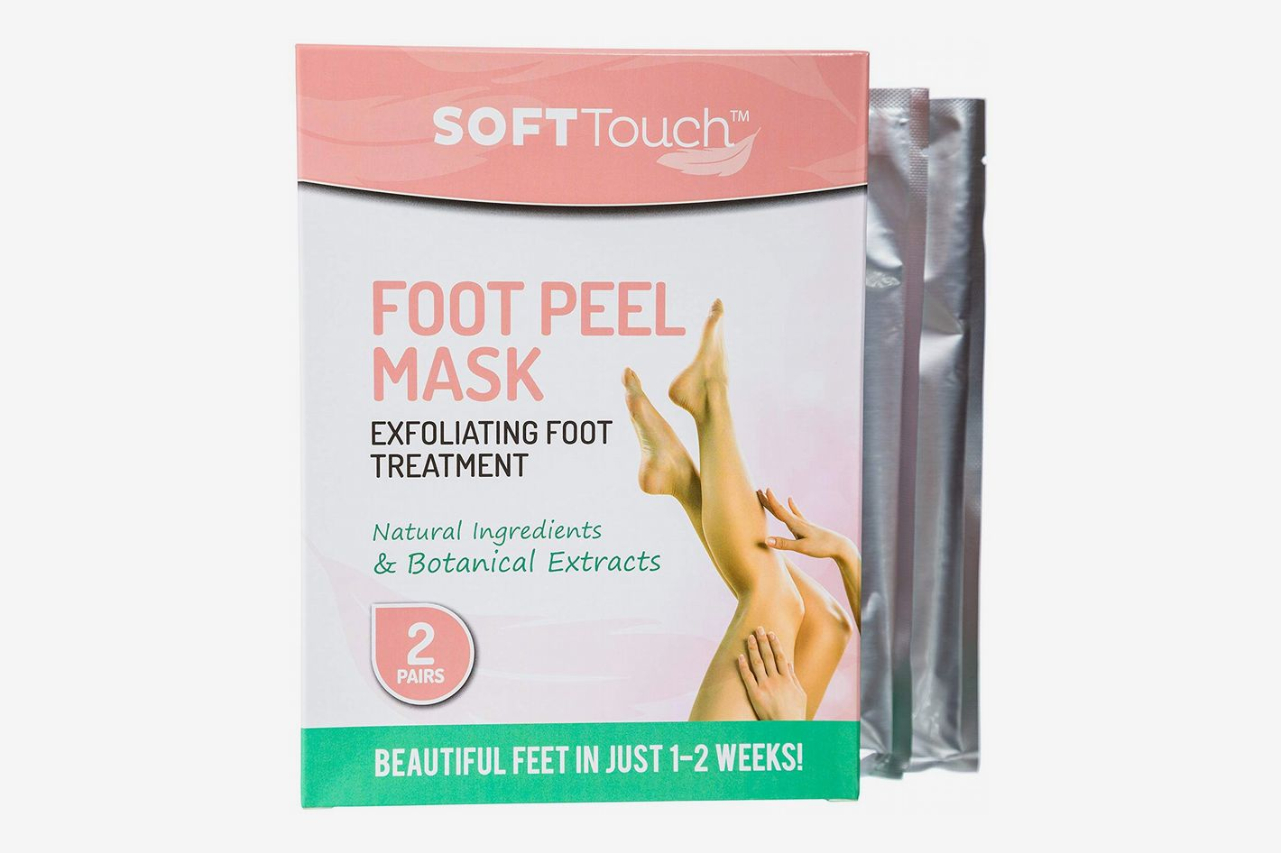 Soft Touch Foot Peel Mask, Exfoliating Callus Remover