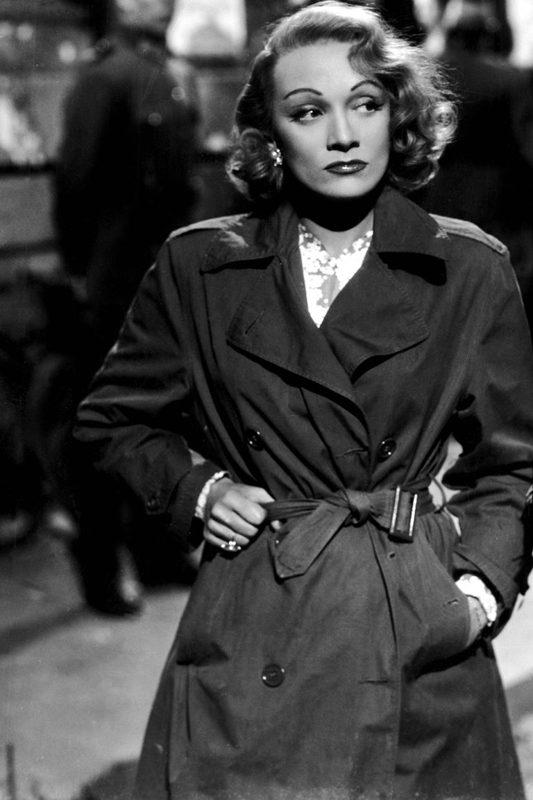 The 40 Chicest Women in Trench Coats of All Time