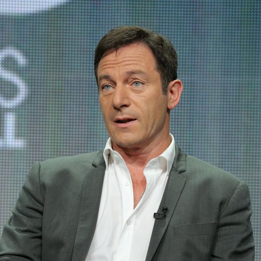 "NBCUNIVERSAL EVENTS -- NBCUniversal Press Tour, July 2014 -- ""Dig"" Session -- Pictured: Jason Isaacs -- (Photo by: Chris Haston/USA Network/NBCU Photo Bank)"
