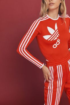 adidas Originals By Ji Won Choi 3-Stripes Long Sleeve Bodysuit
