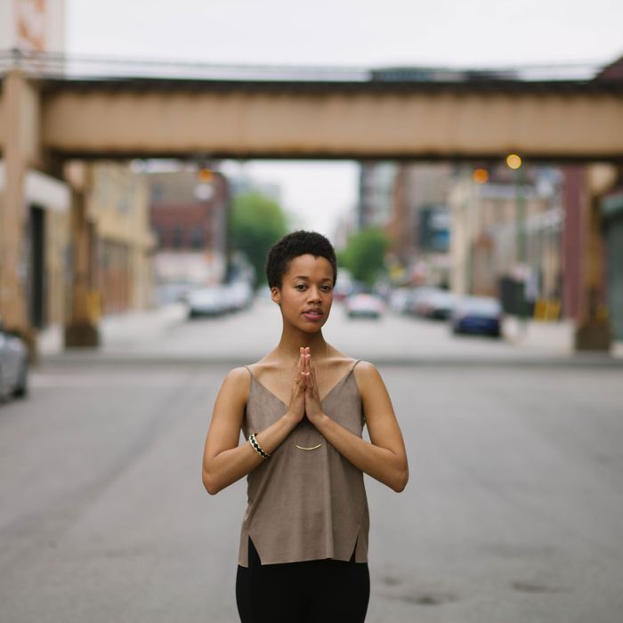 Lauren Ash, founder of Black Girl in Om.
