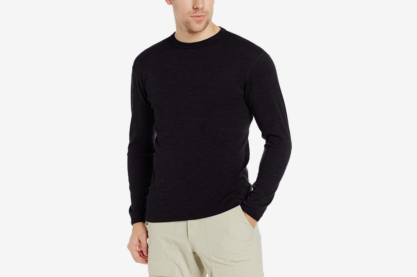 f7a619eeec2e Minus33 Merino Wool Men s Chocorua Midweight Crew at Amazon