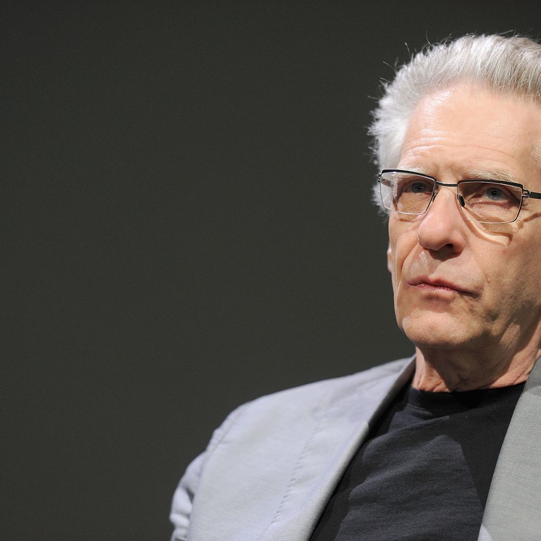 NEW YORK, NY - AUGUST 16:  Director David Cronenberg visits the Apple Store Soho on August 16, 2012 in New York City.  (Photo by Jamie McCarthy/Getty Images)