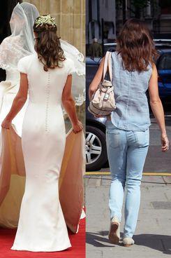 Pippa Middleton's butt.