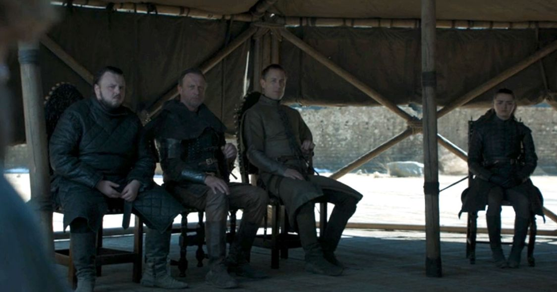 A Water Bottle Snuck Into the Game of Thrones Finale