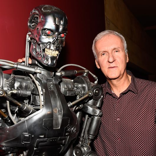 "American Cinematheque 30th Anniversary Screening Of ""The Terminator"" James Cameron & Gale Anne Hurd"